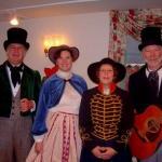 SCC Bookmobile features Spiced Punch Quartet singing Christmas carols on December 8