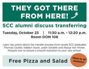 Alumni Panel Transfer Tips