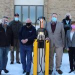 SCC adds electric vehicle charging station