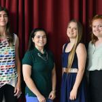 Four SCVTS seniors earn associate degrees from SCC