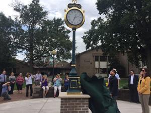 SCC unveils Alumni Clock on Klinke Green