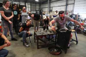 "SCC Glass Art Instructor Rosenberg to Appear on Netflix Reality Show ""Blown Away"""