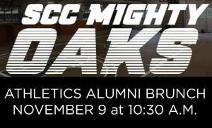 SCC Mighty Oaks Athletics invites alumni to brunch on Nov. 9