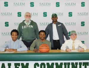 SCC Mighty Oaks men's basketball signs three student-athletes