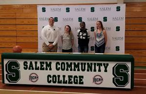 SCC women's basketball signs four student-athletes